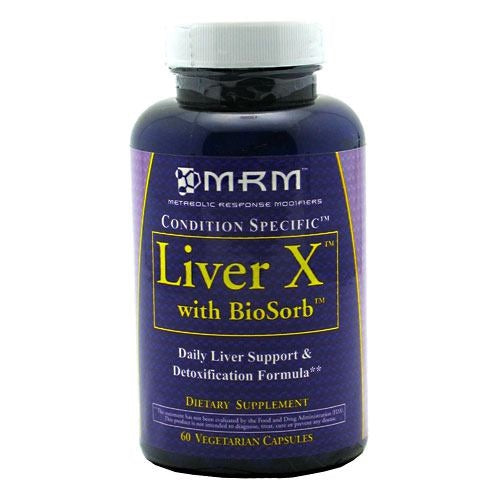 MRM LiverX with BioSorb - 60 ea - 609492610058