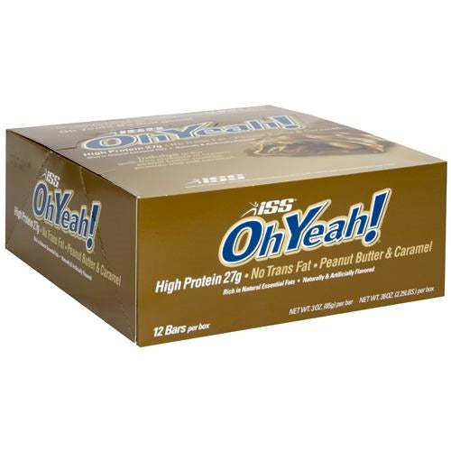 ISS OhYeah! OhYeah! Bar - Peanut Butter and Caramel - 85 g - 788434113571