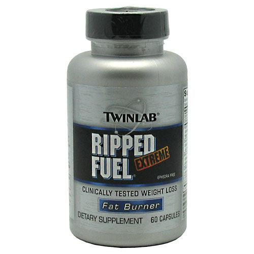 TwinLab Fat Burner Ripped Fuel Extreme - 60 Capsules - 027434022491