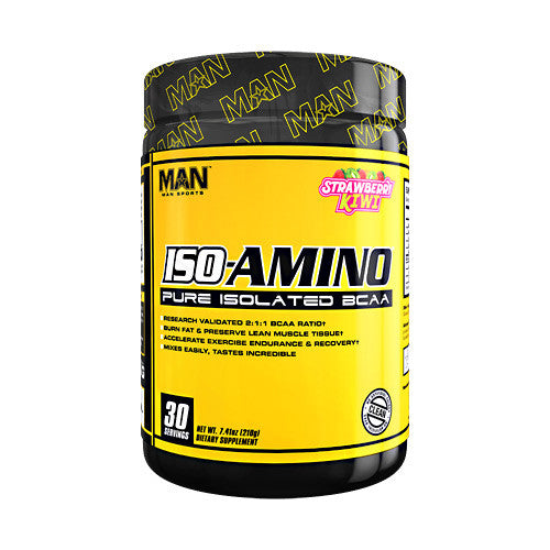 MAN Sports Iso-Amino - Strawberry Kiwi - 7.41 oz - 853360006492