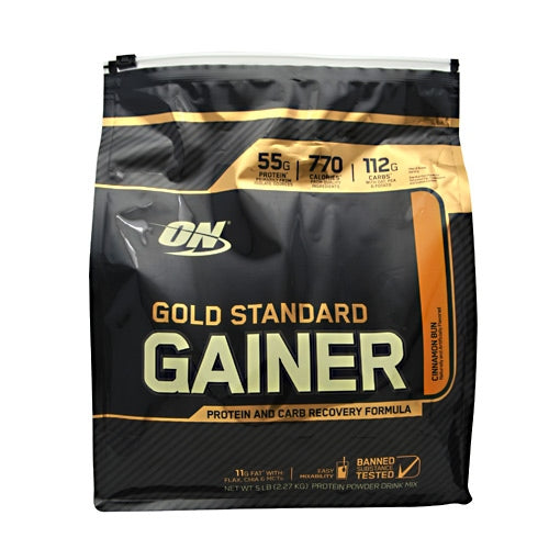 Optimum Nutrition Gold Standard Gainer - Cinnamon Bun - 5 lb - 748927055474