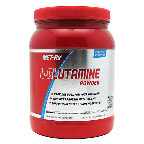MET-Rx L-Glutamine Powder - Unflavored - 1000 g - 786560367257