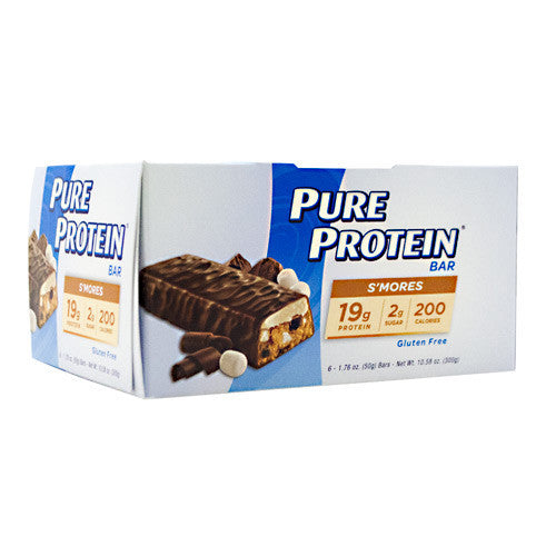 Pure Protein Pure Protein Bar - Smores - 6 Bars - 749826133546