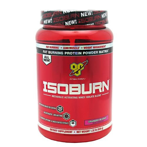 BSN Isoburn - Strawberry Milkshake - 1.32 lb - 834266008575
