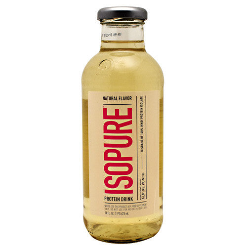 Natures Best Natural Isopure RTD - Alpine Punch - 12 Bottles - 089094036089