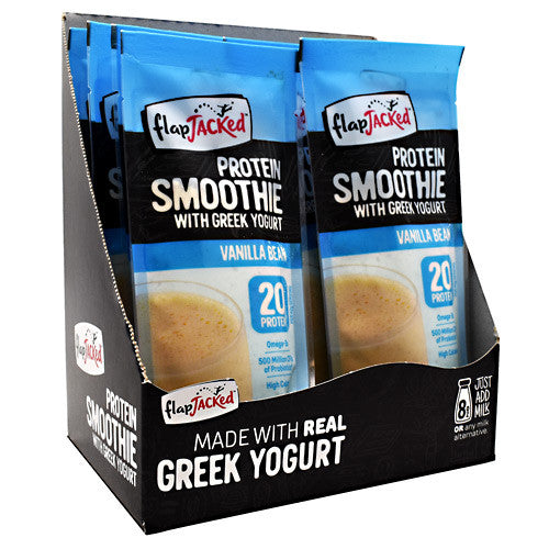 FlapJacked Protein Smoothie - Vanilla Bean - 12 Packets - 10850171005604