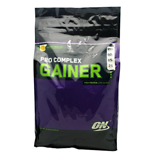 Optimum Nutrition Pro Complex Gainer - Banana Cream Pie - 10.16 lb - 748927029765