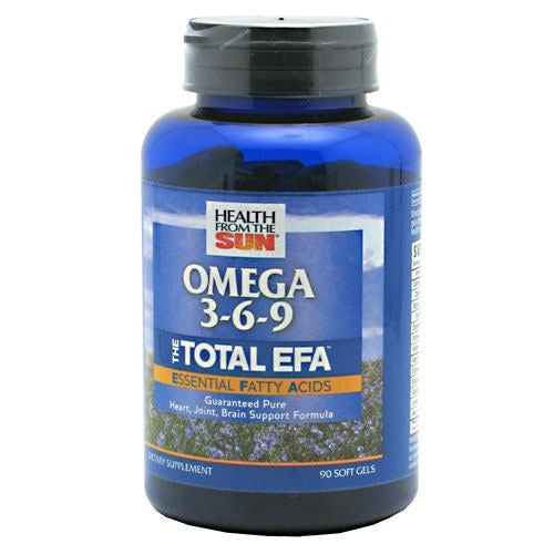Health From The Sun Omega 3-6-9 The Total EFA - 90 ea - 010043050924