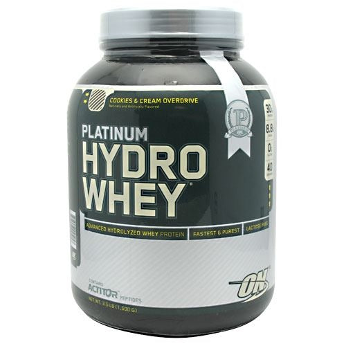 Optimum Nutrition Platinum Hydrowhey - Cookies & Cream Overdrive - 3.5 lb - 748927025057