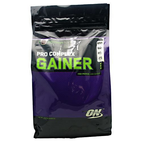 Optimum Nutrition Pro Complex Gainer - Double Chocolate - 10.16 lb - 748927029727