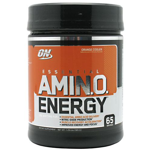 Optimum Nutrition Essential Amino Energy - Orange Cooler - 65 Servings - 748927022902