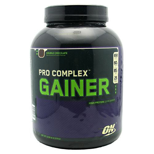 Optimum Nutrition Pro Complex Gainer - Double Chocolate - 5.08 lb - 748927029710