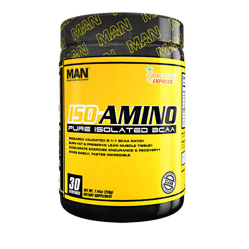 MAN Sports Iso-Amino - Pineapple Express - 30 Servings - 853360006003