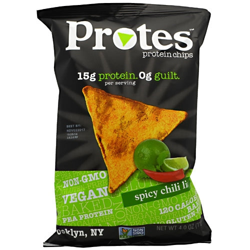 Protes Protein Chips - Spicy Chili Lime - 12 ea - 10859204006120