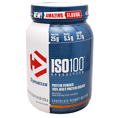 Dymatize ISO 100 - Chocolate Peanut Butter - 1.6 lbs - 705016355150