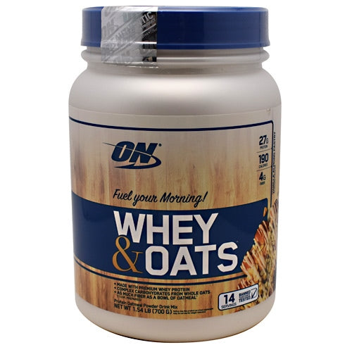 Optimum Nutrition Whey & Oats - Vanilla Almond Pastry - 14 Servings - 748927056686