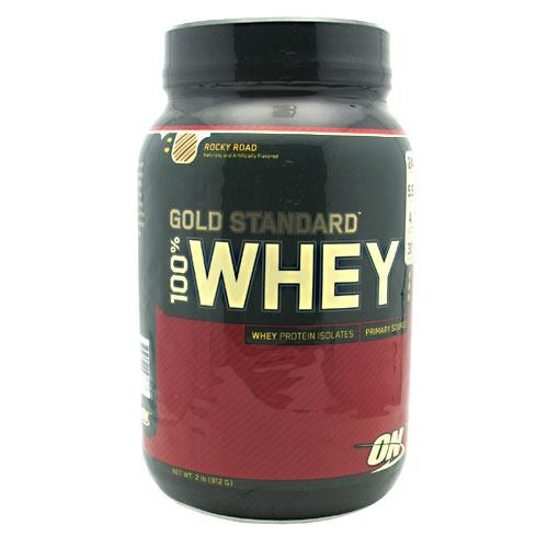Optimum Nutrition Gold Standard 100% Whey - Rocky Road - 2 lb - 748927027877