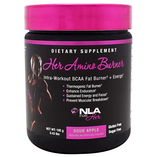 NLA For Her Her Amino Burner - Sour Apple - 30 Servings - 701385375775