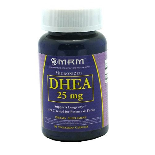 MRM Micronized DHEA 25mg - 90 ea - 609492410023