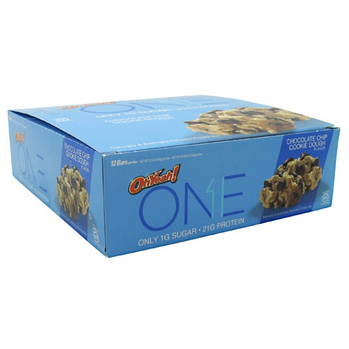 ISS OhYeah! One Bar - Chocolate Chip Cookie Dough - 12 Bars - 788434108829