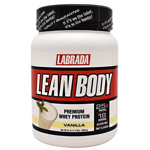 Labrada Nutrition Lean Body - Vanilla - 18 Servings - 710779560406