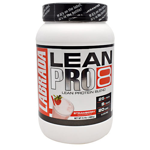 Labrada Nutrition LeanPro8 - Strawberry - 2.2 lb - 710779113428