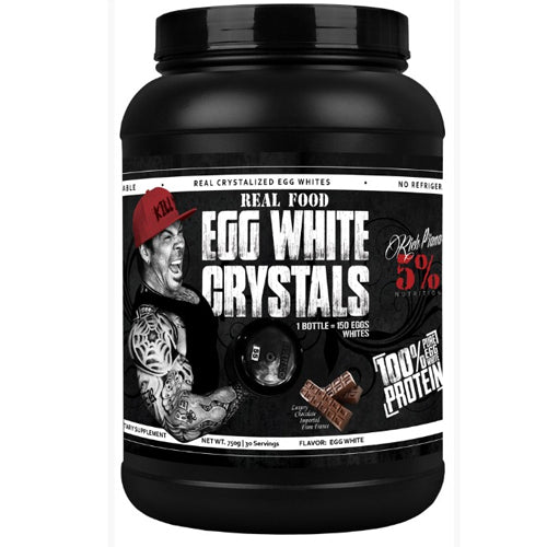 Rich Piana 5% Nutrition Egg White Crystals 30 Servings - Vitamin Shack