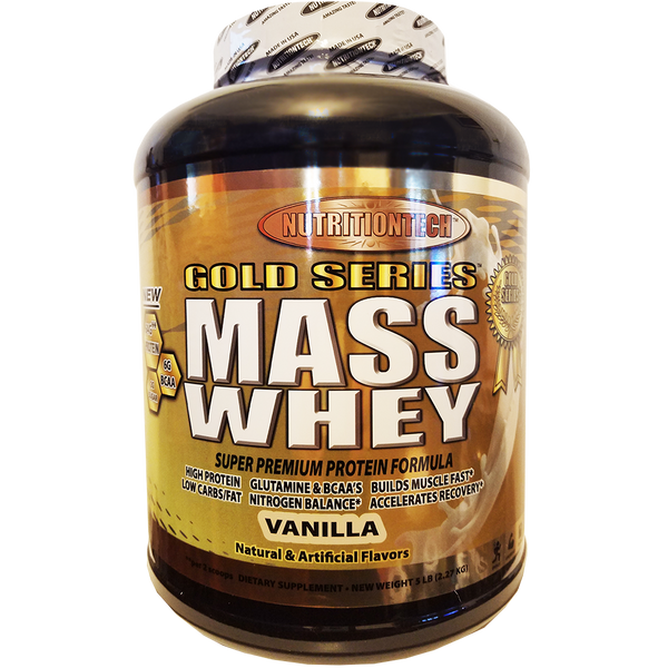 Nutrition Tech MASS Whey 5 lbs