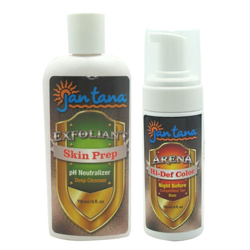 Jan Tana Hi-Def Color & Skin Prep - 2 Bottles - 858196000331