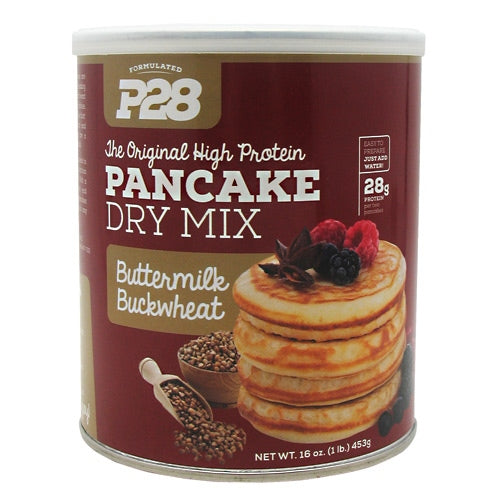 P28 Foods High Protein Pancake Mix - Buttermilk Buckwheat - 16 oz - 738416000078