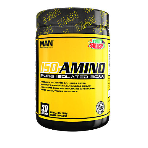 MAN Sports Iso-Amino - Fruit Smash - 30 Servings - 898684554724