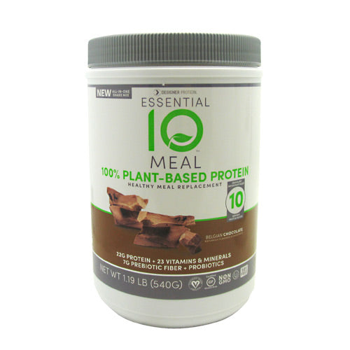 Designer Protein Essential 10 Meal - Belgian Chocolate - 1.19 lb - 844334010317