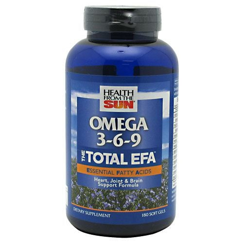 Health From The Sun Omega 3-6-9 The Total EFA - 180 ea - 010043050948