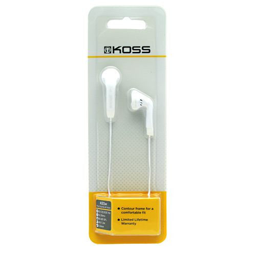 Tune Belt Earphones KE5w - White - 1 Pair - 021299176801