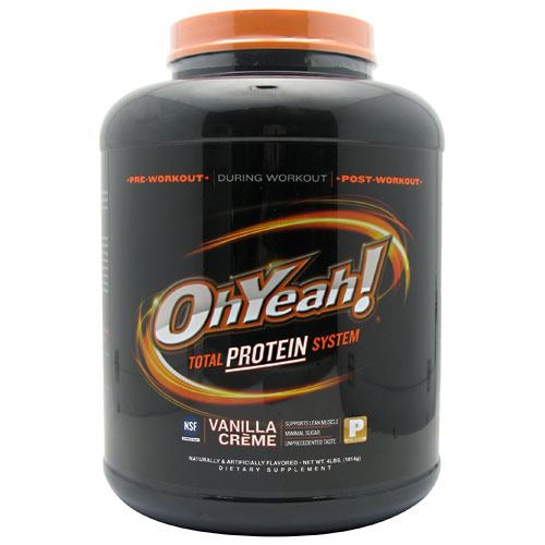 ISS OhYeah! Protein Powder - Vanilla Crème - 4 lb - 788434110532