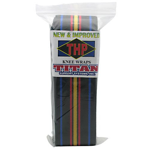 Titan Support Systems High Performance Knee Wraps - Titan Support Systems High Performance Knee Wraps - 896514001059