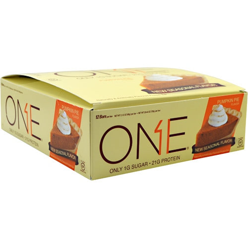 ISS OhYeah! One Bar - Pumpkin Pie - 12 Bars - 788434107020