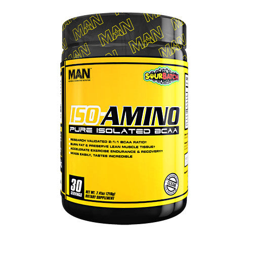 MAN Sports Iso-Amino - Sour Batch Kids - 30 Servings - 898684554564