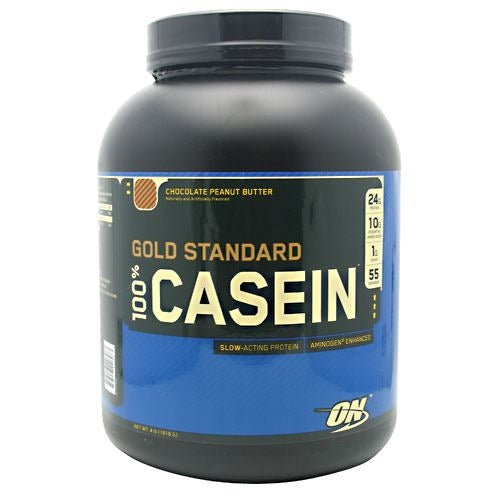 Optimum Nutrition Gold Standard 100% Casein - Chocolate Peanut Butter - 4 lb - 748927026283
