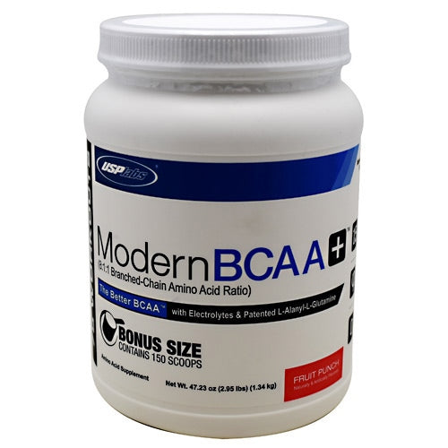 USP Labs Modern BCAA+ - Fruit Punch - 75 Servings - 094922016997