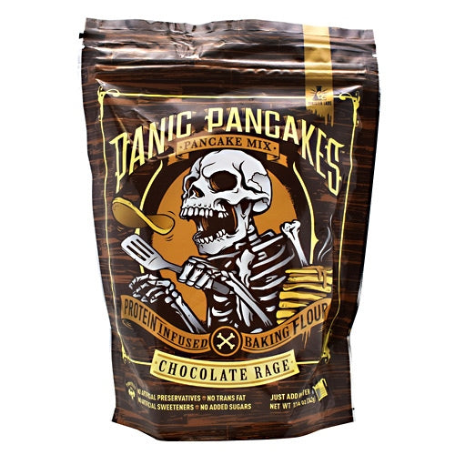 Sinister Labs Panic Pancakes Pancake Mix - Chocolate Rage - 6 Servings - 853698007246