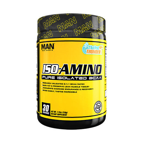 MAN Sports Iso-Amino - Tropic Thunder - 7.41 oz - 853360006485