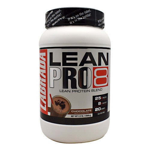 Labrada Nutrition LeanPro8 - Chocolate - 2.2 lb - 710779113411