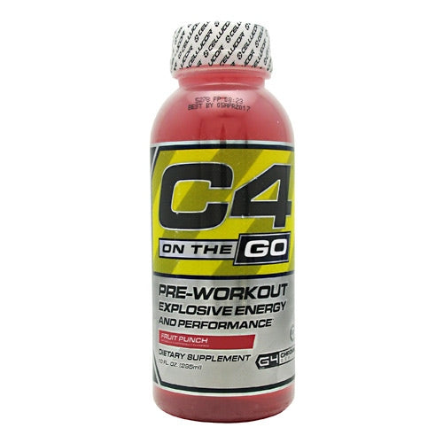 Cellucor C4 RTD - Fruit Punch - 12 Bottles - 810390026500