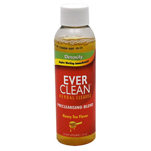 Detoxify Ever Clean Herbal Cleanse - Honey Tea - 5 Bottles - 870434000033
