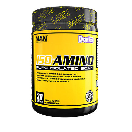 MAN Sports Iso-Amino - Dorks - 30 Servings - 898684554588