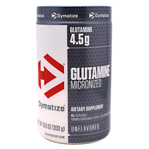 Dymatize Glutamine - Unflavored - 10.6 oz - 705016163007