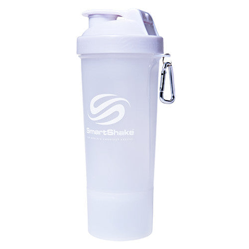 Smart Shake Slim Shaker Cup - Pure White - 17 oz - 7350057182109
