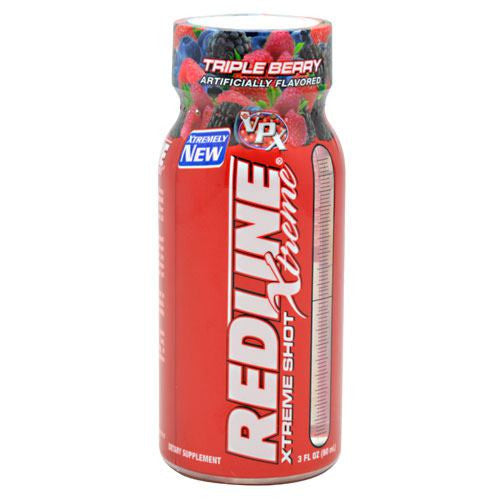 VPX Redline Xtreme Shot - Triple Berry - 24 Bottles - 610764003027