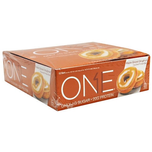 ISS OhYeah! One Bar - Maple Glazed Doughnut - 12 Bars - 788434106764